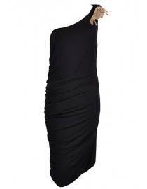 Robe 1 bretelle - noir